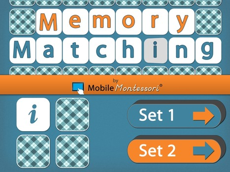 Memory Matching by Mobile Montessori | Apps for Children with Special Needs | Scoop.it
