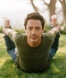 Robert Downey Jr Gets His Yoga On!   Yoga For The Non-Cliche Yogi   Scoop.it