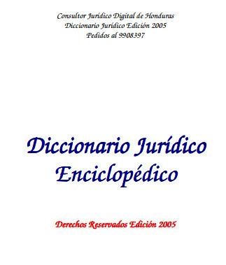 Dicionario Juridico Gratis Pdf