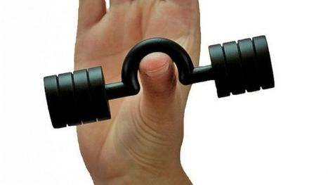 Thumbells?!  Build thumb strength for texting strength. | bePilates | Scoop.it