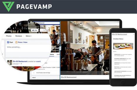 Avec PAGEVAMP, transformez votre page Facebook en site internet ! | Social Media, etc. | Scoop.it