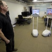 Telepresence Robots Let Companies Create Work Environment Thousands Of Miles Apart | Robots and Robotics | Scoop.it