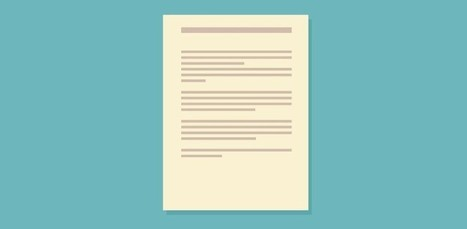 The Perfect Cover Letter Template to Show Off Your Skills | Tendances de com | Scoop.it
