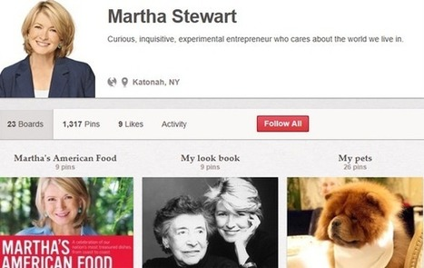 Pinterest drives way more traffic to Martha Stewart than Facebook | Pinterest | Scoop.it