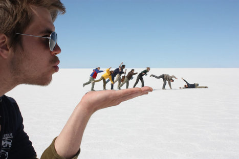 44 awesome forced perspective-shots every traveler needs in their photo albums | IELTS, ESP, EAP and CALL | Scoop.it