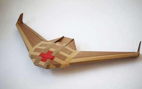 Un projet de drone livreur jetable et biodégradable | Innovation et technologie | Scoop.it