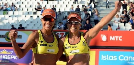 Juliana/Larissa garante hepta do Circuito Mundial sem sequer entrar em quadra   esportes   Scoop.it
