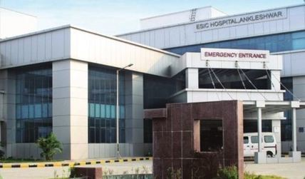 100 bed esic hospital inaugurated at ankleshwar
