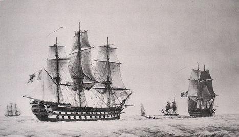 Les bâtiments de l'École navale au 19e siècle | Bateaux et Histoire | Scoop.it