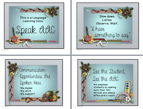 AAC Printables | AAC: Augmentative and Alternative Communication | Scoop.it