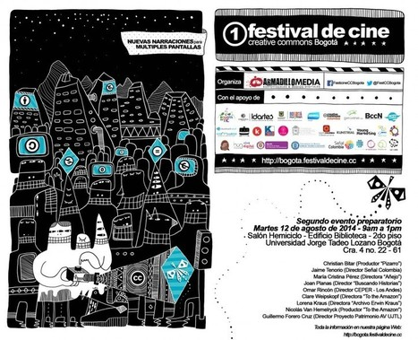 Segundo evento preparatorio del Festival de Cine CC Bogotá | Cinema Libre + Cultura Libre | Scoop.it