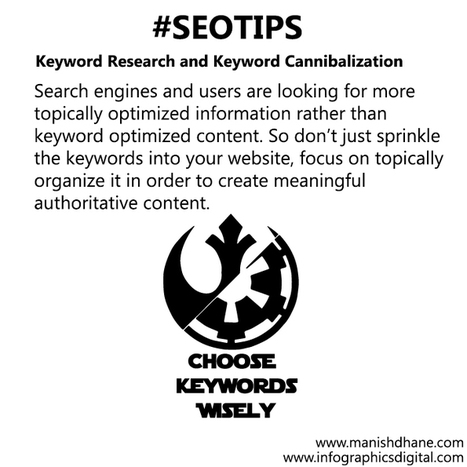 SEO Tips - Choose Your Keywords Wisely | Social Media and Internet Marketing | Scoop.it