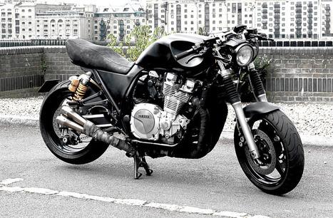 "YAMAHA XJR 1300 ""DARK WISDOM"" | Vintage Motorbikes | Scoop.it"