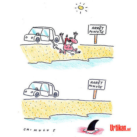 Sur la route des vacances | Dessinateurs de presse | Scoop.it