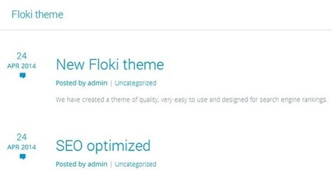Floki - A Free Minimalist WordPress Theme | Free & Premium WordPress Themes | Scoop.it