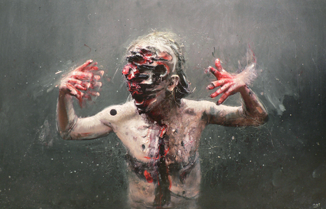 Olivier de Sagazan   Painter   Sculptor   Performer   les Artistes du Web   Scoop.it