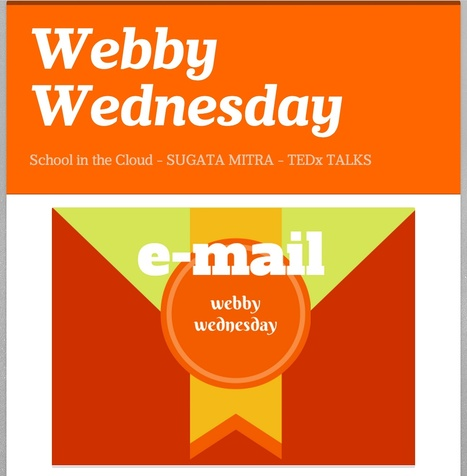 Librarians on the Fly: Webby Wednesday - School in the Cloud by TEDxer SUGATA MITRA | Educational technology | Scoop.it