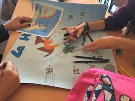 Uso de códigos QR en el aula: estudiamos el medio geográfico de la antigua Grecia | QR code readers, generators and news | Scoop.it