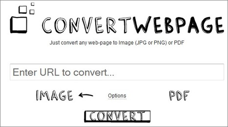 Convert Webpage — Convert any web-page to Image or PDF | i KATHA- THE NEW AGE STORYTELLING | Scoop.it