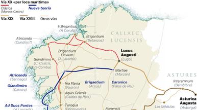 Un ingeniero propone una ruta por mar para la vía romana XX | Centro de Estudios Artísticos Elba | Scoop.it