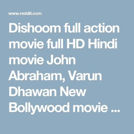 the Dishoom dubbed in hindi movie download torrent