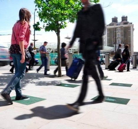 Amazing Tiles Harvest Energy From Footsteps | Green Prophet | Green Eco energy cyprus | Scoop.it