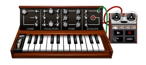 Google : Le synthétiseur de Robert Moog en doodle | GEEK ... | News Techno | Scoop.it