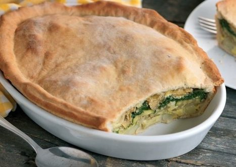 Italian Vegetable Pie Vegetarian Recipe | Food for Foodies | Scoop.it
