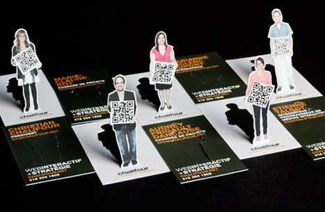 Excellent ! 3D business cards with QRCode | QRdressCode | Scoop.it
