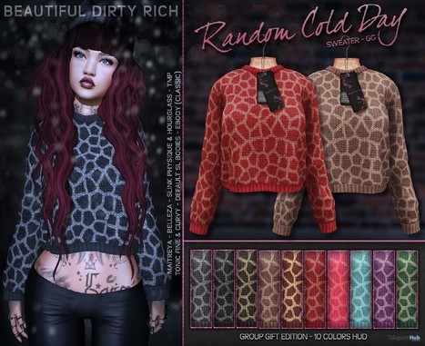 c42b652e7feda Random Cold Day Sweaters Fatpack Group Gift by Beautiful Dirty Rich