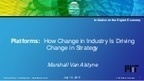 Platform Shift: How New Business Models Are Changing the Shape of Industry | Innovation for all | Scoop.it