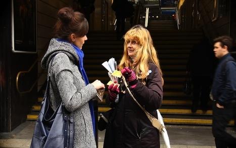 Network of Homeless Newspapers Tries QR-Code Digital Edition | VIM | Scoop.it