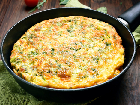 Basil and Ricotta Frittata | Le Marche and Food | Scoop.it