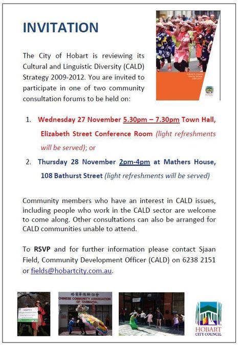 Community consultation forum for CALD | CFNP South | Scoop.it