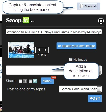 Scoop.it: Curation Made Social   Social Networking for Information Professionals   Scoop.it