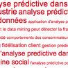 Analyses prédictives
