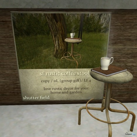 3286299f9b Rustic Coffee Stool Group Gift by Shutter Field...