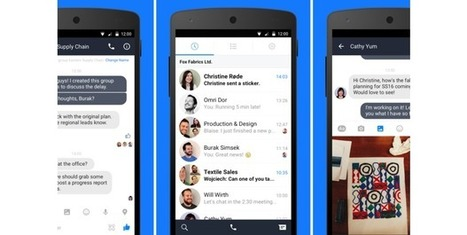 Facebook starts testing long-awaited Work Chat app for businesses | (Higher) Education & Technology | Scoop.it