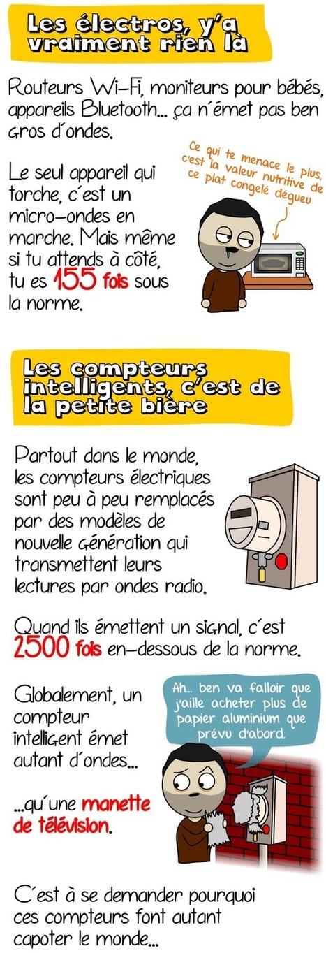 [Infographie] Compteurs intelligents, ondes dangereuses et électrophobie | Toxique, soyons vigilant ! | Scoop.it