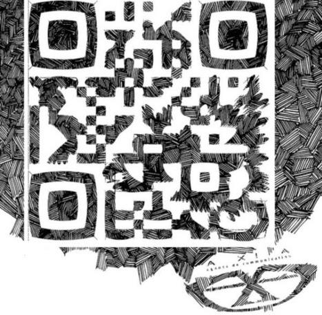 40 Gorgeous QR Code Artworks That Rock | artcode | Scoop.it