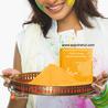 Organic Holi Colors with herbal ingredients