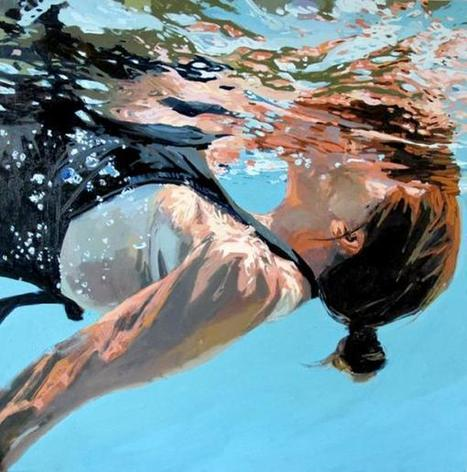 Underwater Paintings by Samantha French | Visual Inspiration | Scoop.it