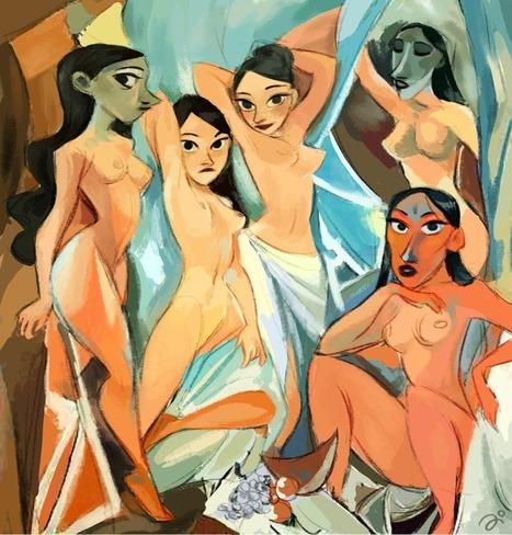 La página en la cual puedes colorear las obras más famosas de tus pintores favoritos - Cultura Colectiva | TUL | Scoop.it