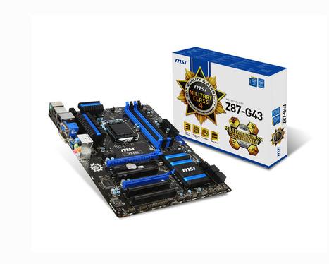 MSI Z87-G43 - สินค้าไอที IT Accessories computer ราคาถูก : Inspired by LnwShop.com | สินค้าไอที,สินค้าไอที,IT,Accessoriescomputer,ลำโพง ราคาถูก,อีสแปร์คอมพิวเตอร์ | Scoop.it