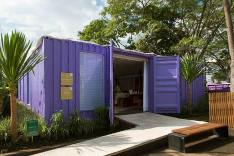 Inspiration un container transformé en maison design