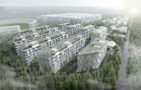 Skolkovo Technopark Residential Area seeks to integrate human living with nature | Future_Cities | Scoop.it