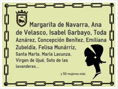 Sólo una de cada diez calles de Pamplona tiene nombre de mujer | Ordenación del Territorio | Scoop.it