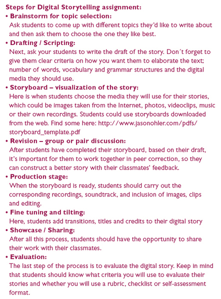 Classroom Link :: Integrating Digital Storytelling Projects in our Teaching | Digital Storytelling Tools | Scoop.it
