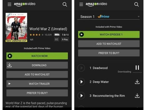 Which streaming services let you download for offline viewing? | Transmedia Storytelling for Business | Scoop.it