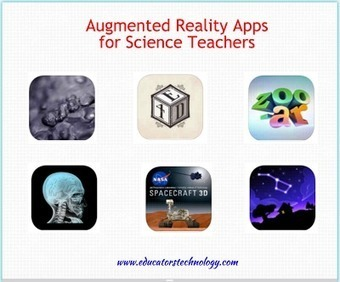 6 Outstanding Augmented Reality Apps for Science Teachers ~ EdTech and MLearning   Ed Tech   Scoop.it